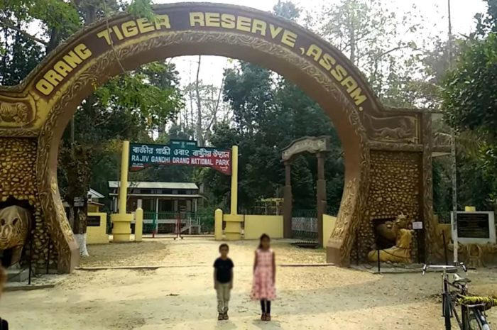 About of Rajiv Gandhi Orang National Park in Assamese