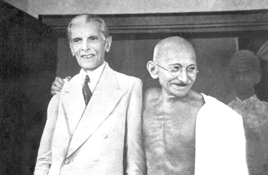 Gandhi Jinnah 1944