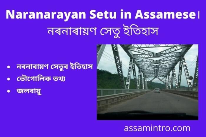 About of Naranarayan Setu in Assamese। নৰনাৰায়ণ সেতু