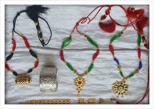 Traditional Assamese Ornaments crafted at Ranthali, Nagaon, Assam