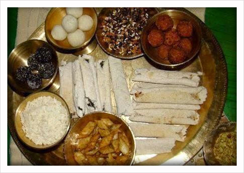 Different types of Traditional Pitha and Laru's