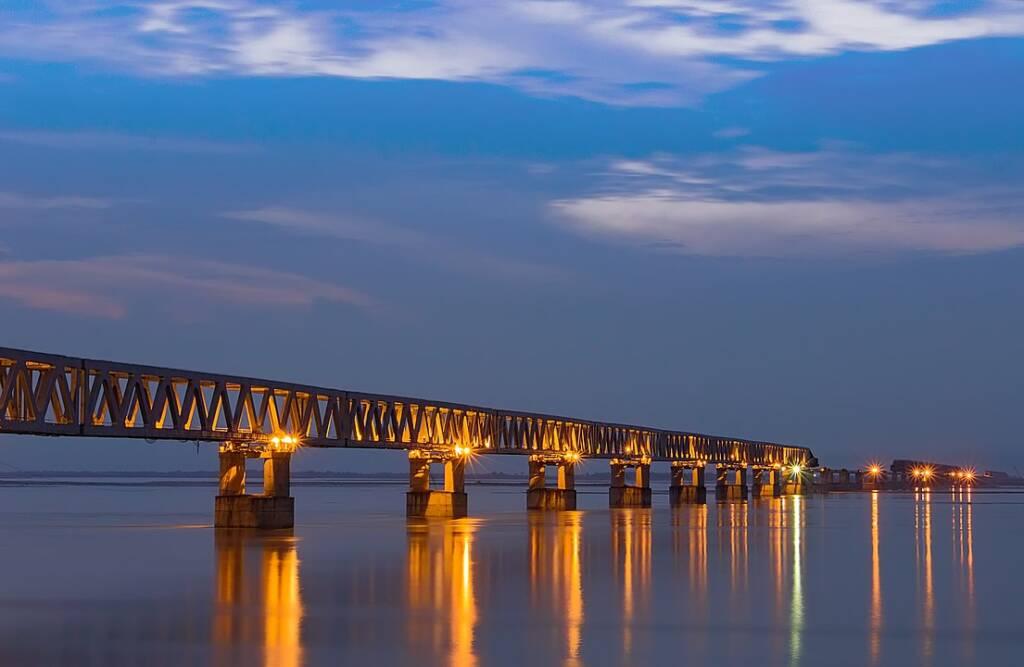 Bogibeel Bridge in Assamese