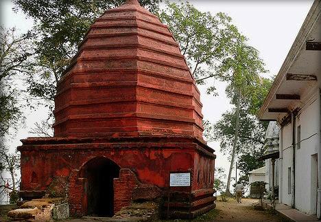 Umananda Temple in Assamese